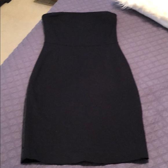 GAP Dresses & Skirts - Gap Black Strapless Cocktail dress